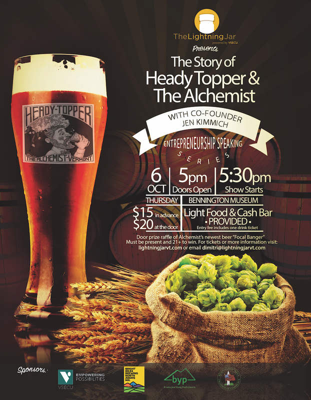 the story of heady topper the alchemist brewery the lightning jar picture